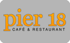 Logo Pier 18 Café & Restaurant